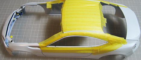 スバルBRZ ボディ塗装7