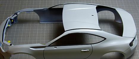 スバルBRZ ボディ塗装10