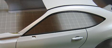 スバルBRZ ボディ塗装13