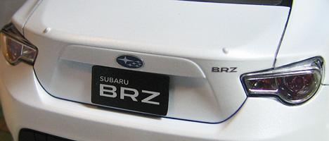 スバルBRZ デカール