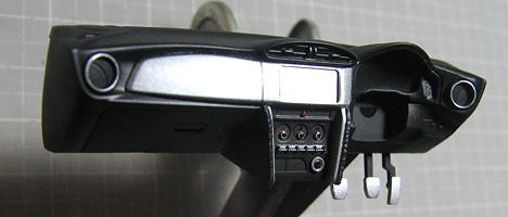 スバルBRZ コックピット塗装7
