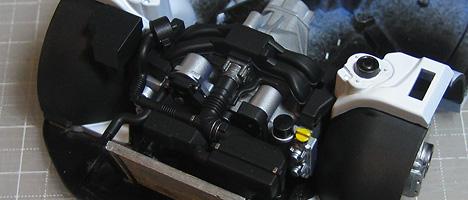 スバルBRZ エンジン7