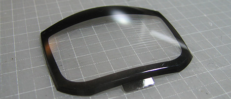 スバルBRZ グラス塗装2