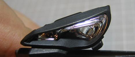 スバルBRZ ヘッドライト1