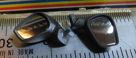 スバルBRZ サイドミラー1