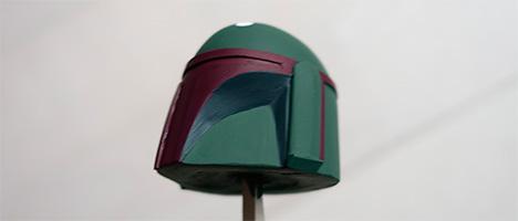ボバ・フェット マスクの塗装