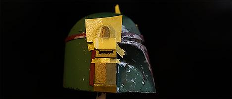 ボバ・フェット 耳の塗装