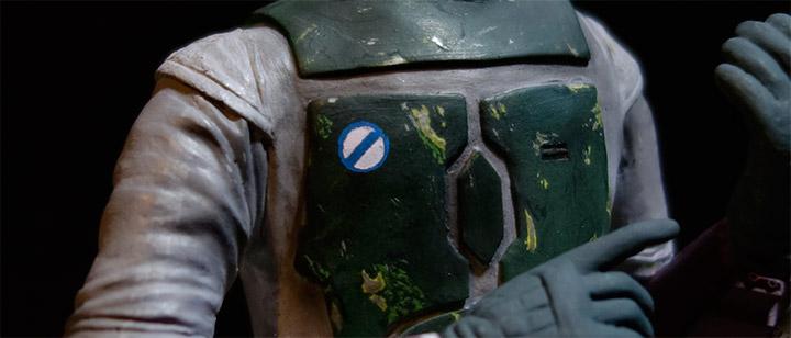 ボバ・フェットの胸のマーク4