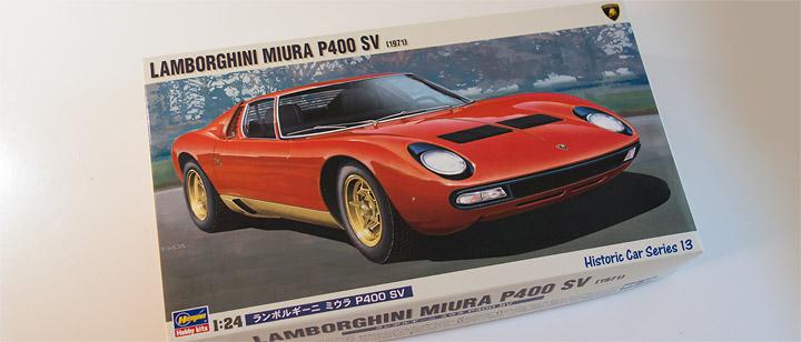 ハセガワ ランボルギーニ・ミウラ Lamborghini Miura