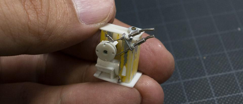 AHM CB750Fキャブレターの制作