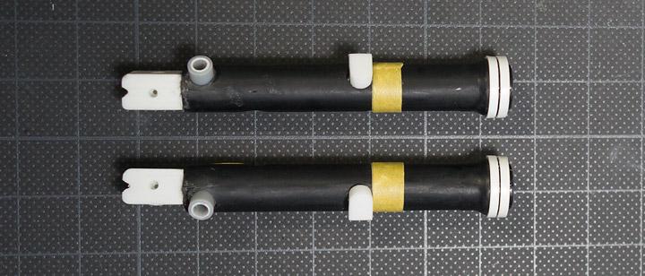 AHM,CB750Fフロントフォークの制作6