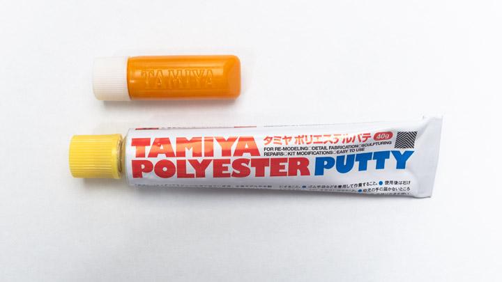 タミヤ ポリエステルパテ tamiya polyester putty