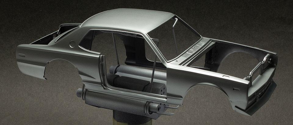 tamiya skyline GT-R body